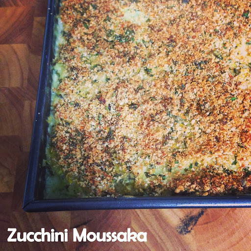 {Recipe} Zucchini Moussaka #thermomix
