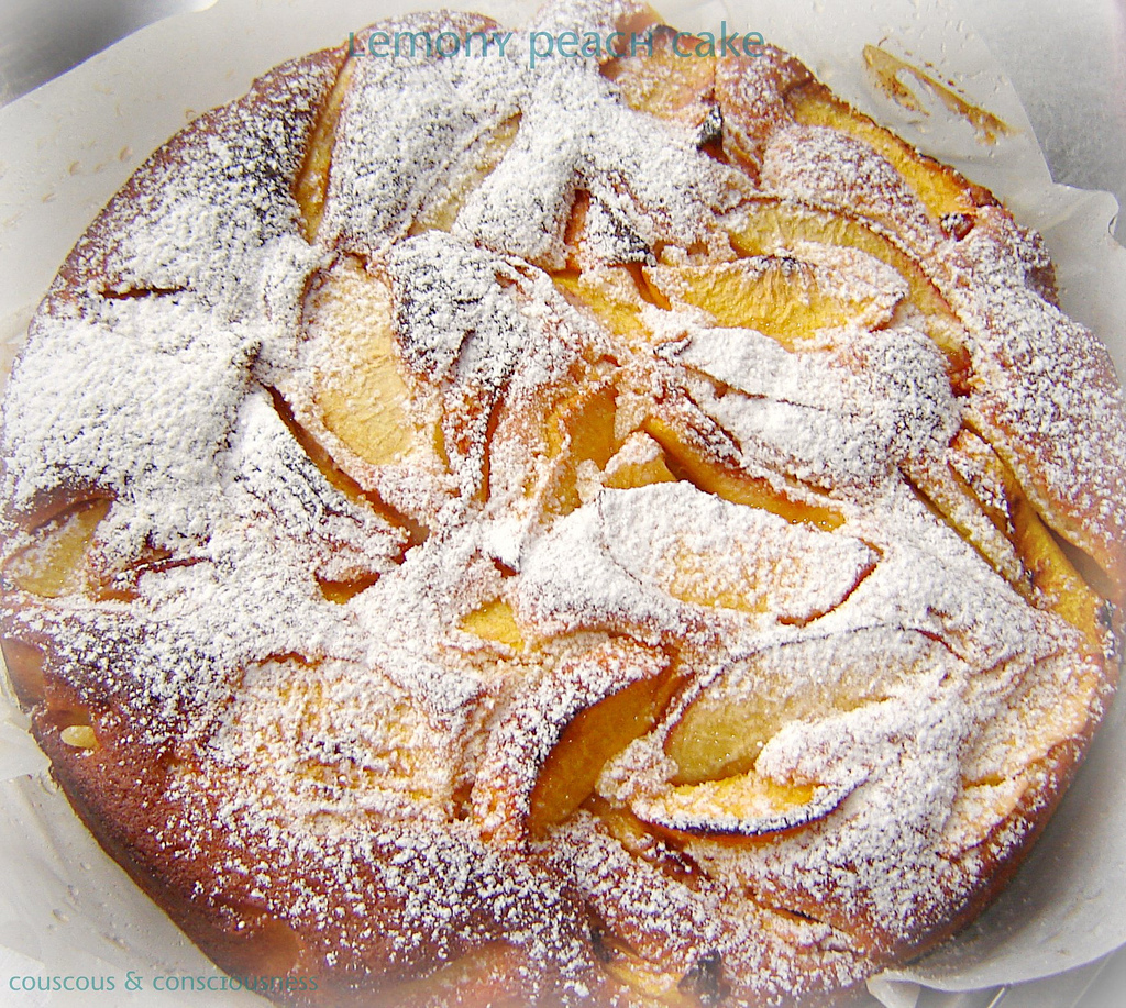 Lemony Peach Cake Recipe