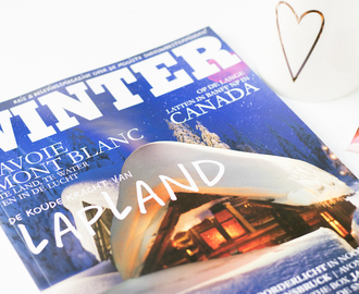 Mijn winterbeleving in 'WINTER' Magazine!