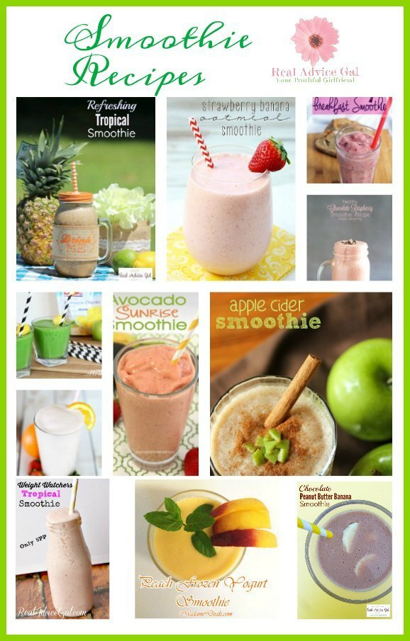 Healthy Smoothie Recipe Ideas