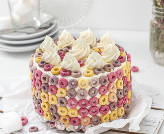 Froot Loops Torte
