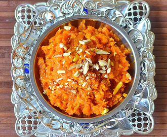 Carrot Halwa – Gajar Ka Halwa Recipe Without Khoya