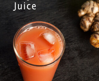 Carrot Apple Ginger Juice – Fresh juice for a healthier you