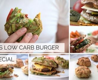 Das Low Carb Burger-Special