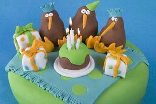 Party Cakes for Kiwi Kids