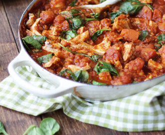 Leftover Turkey Curry Recipe – Low Fat and Low Calorie