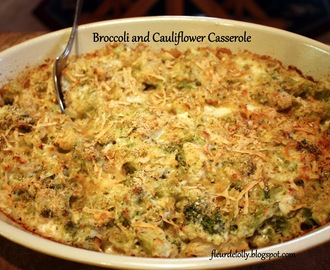 Broccoli & Cauliflower Casserole