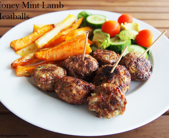 Honey Mint Lamb Meatballs – Thermomix & regular