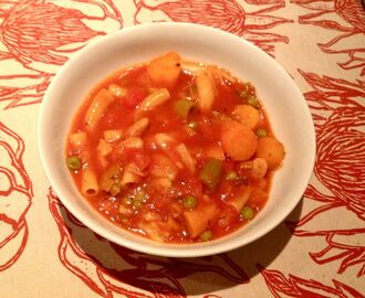 Recipe: Chunky minestrone soup