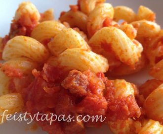 Recipe: Chorizo pasta - A classic, now with the Thermomix too