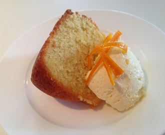 #104: Gluten-Free Orange Syrup Cake