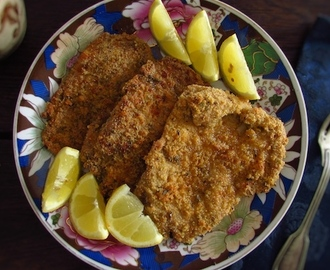 Breaded pork steaks in the oven | Food From Portugal