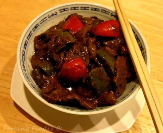 Pressure Cooker Beef in Black Bean Sauce (includes Instant Pot method)