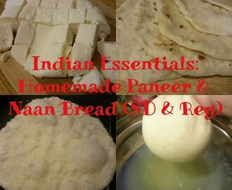 Indian Essentials: Homemade Paneer and Naan Bread (Sourdough & Regular)