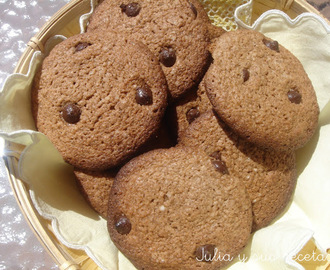 GALLETAS DE CHOCOLATE  (CELIACOS)