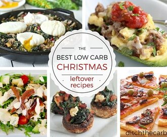 Best Low Carb Christmas Leftover Recipes