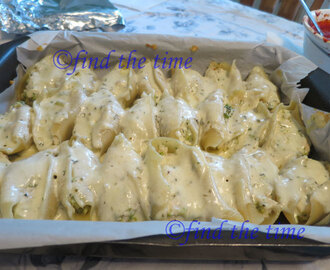 chicken and spinach stuffed shells