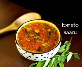 rasam recipe | tomato rasam recipe | easy tomato saaru recipe
