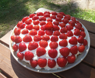 Mansikkatorttu/ Strawberry Tart
