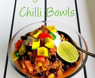 My Vegetarian Chilli Bowls (Thermomix)