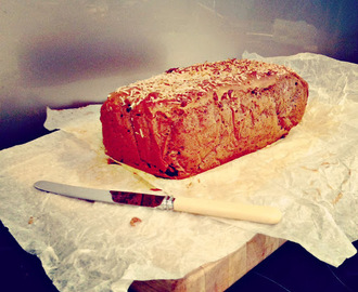 Gluten Free Date and Walnut Bread