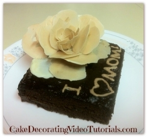 Dark Chocolate Homemade Cake Recipe