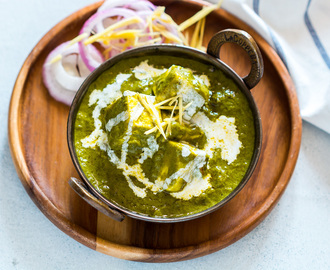 Easy Palak Paneer (Video Recipe)