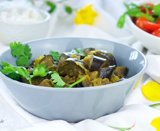 Curry d'aubergines (vegan)