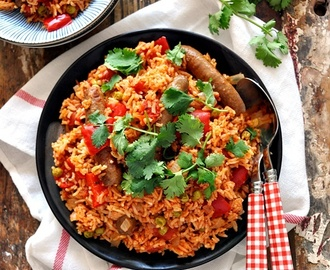 Mexican Rice with Sausage Recipe
