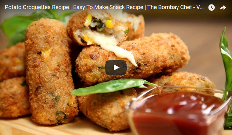 Potato Croquettes Recipe Video