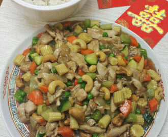 Chicken & Cashew – Chinese New Year