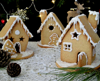 Piccole dolci gingerbread house