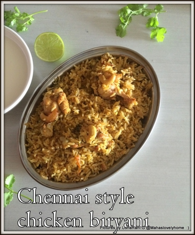 Chennai Style Chicken Biryani | Chicken Biriyani In Chennai Style | Easy Murgh Biriyani | 15 Indian Popular Chicken Biryani Recipes