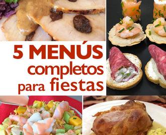 Recetas de menu facil para invitados mytaste - Cena para invitados facil ...