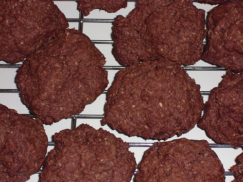 Chocolate Rough Biscuits