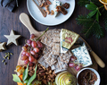 A Holiday Cheese Board with Homemade Fig and Orange Marmalade + Spicy Nuts