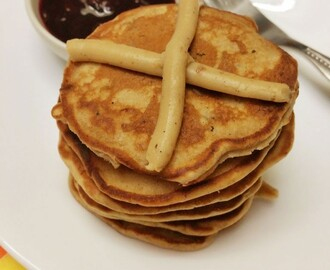 Hot Cross Pancakes Recipe