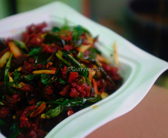 Spicy Kerala Beef Chilli
