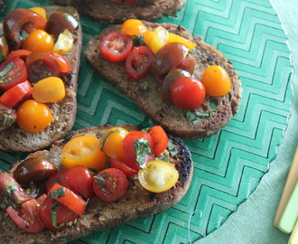 BRUSCHETTA de Julie POWELL