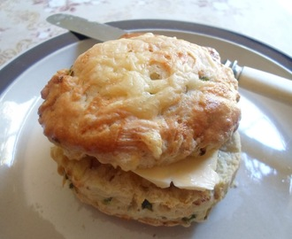 Cheese, Zucchini & Pinenut Scones