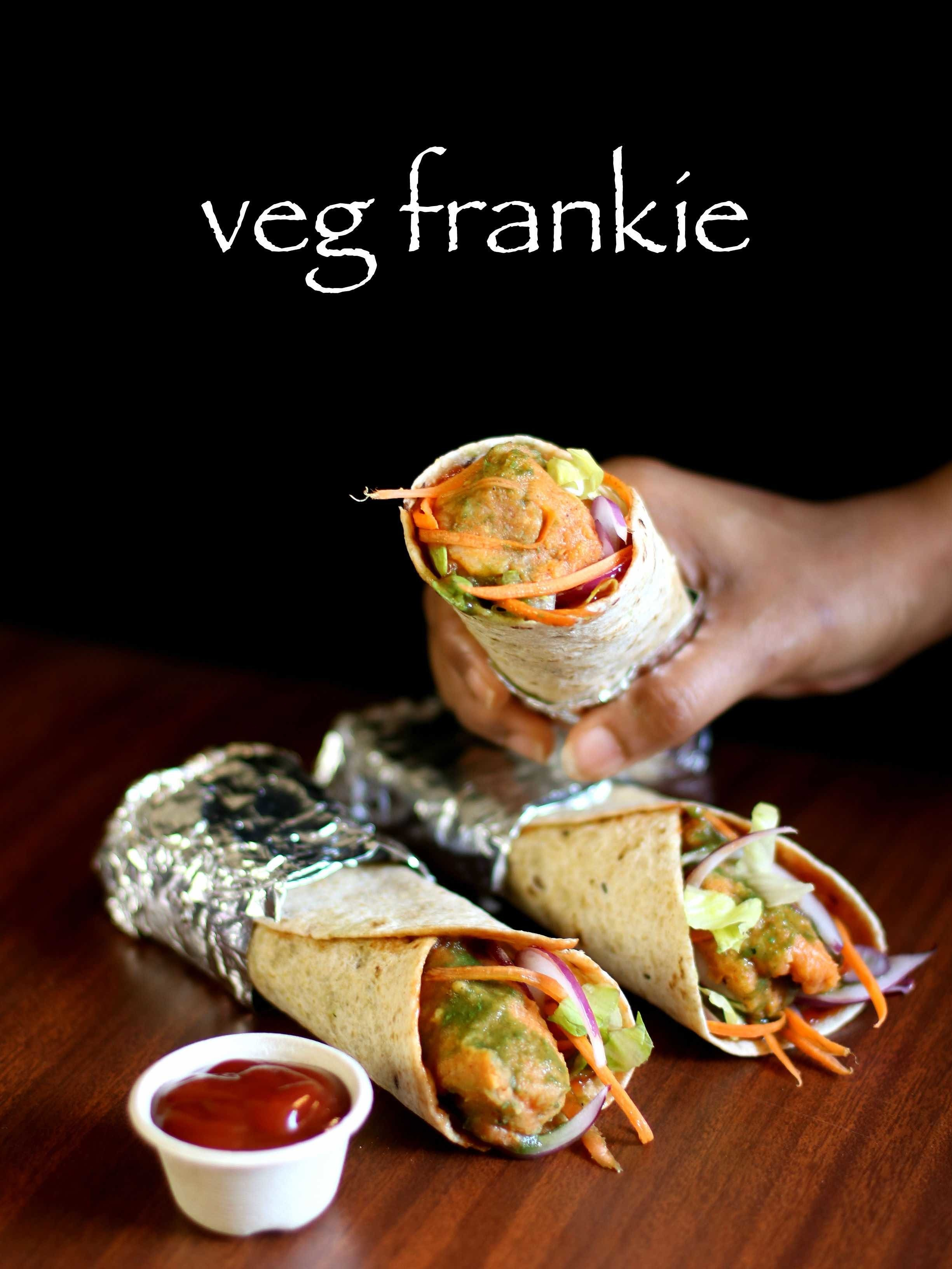 veg frankie recipe | veg kathi roll recipe | veg frankie roll recipe