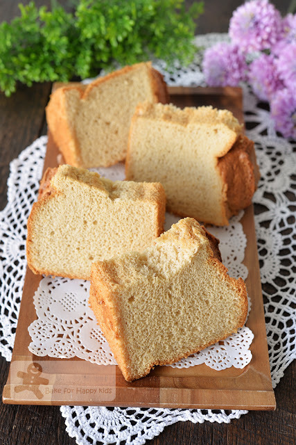 Ultra Soft Maple Syrup Chiffon Cake - HIGHLY HIGHLY HIGHLY RECOMMENDED!!!
