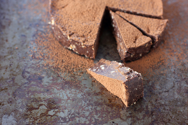 rich chocolate slice recipe