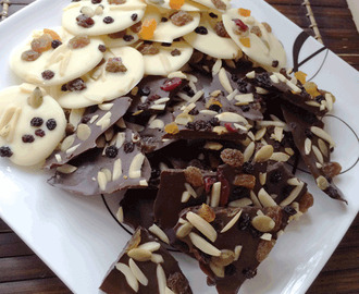 ThermoFun – Chocolate Trail Mix Bark Recipe