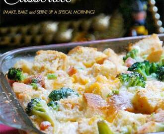 Holiday Breakfast Casserole Recipe