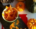 Chips de courge butternut