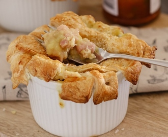 Thermomix Chicken & Leek Pies