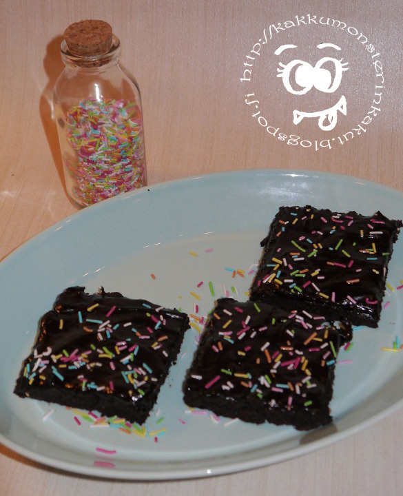 Vegaani brownies (video)