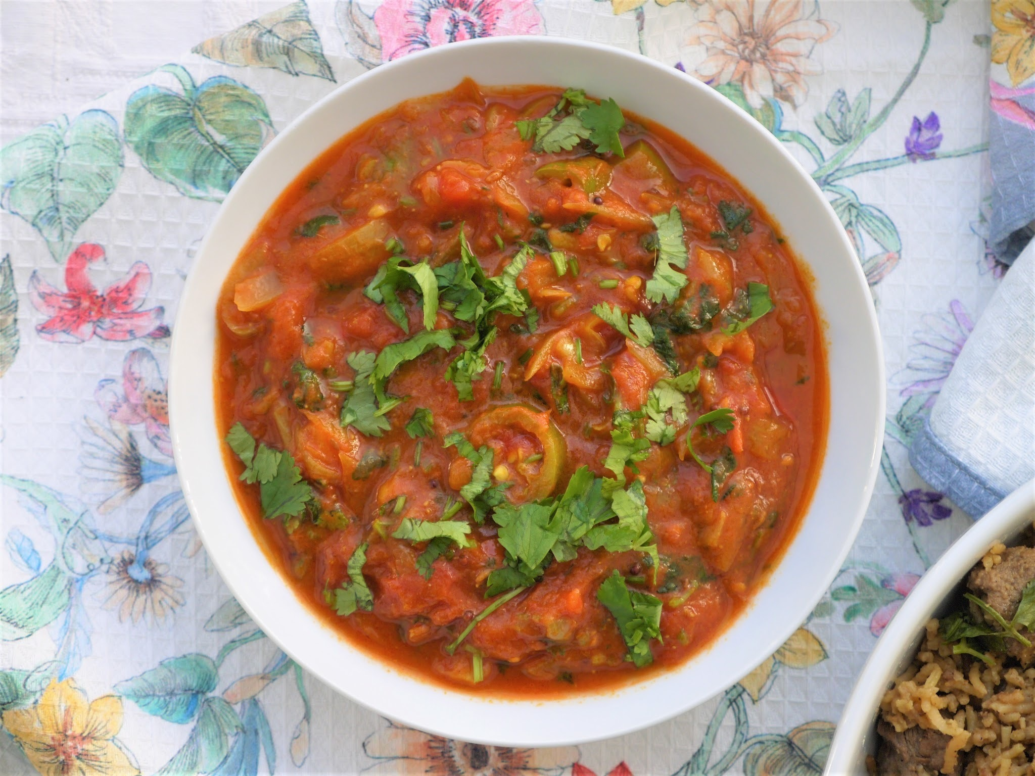 Fijian Indian Tomato Chutney.