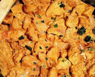 Poulet Curry, lait de coco
